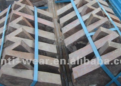 Ni Hard White Iron Mill Liners