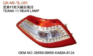 Nissan Teana Tail Light