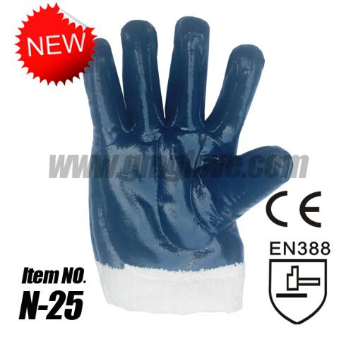 Nitrile Oil Resistant Gloves