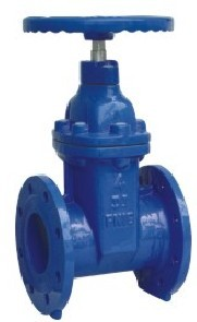 Non Rising Stem Resilient Soft Seated Gate Valve Ansi 125 150