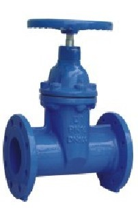 Non Rising Stem Resilient Soft Seated Gate Valve Din 3352 F5