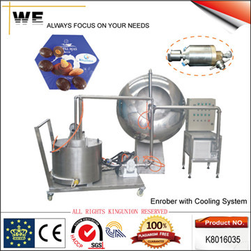 Nuts Enrober With Cooling System