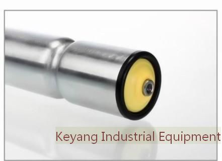 O Ring Conveyor Roller Galvanized Or Stainless Steel Tube