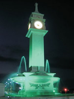 Occurred Clock Polyester Fiberglass Ctp