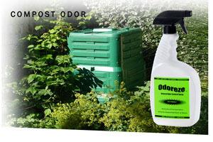 Odoreze Eco Compost Odor Eliminator Spray Makes 64 Gallons