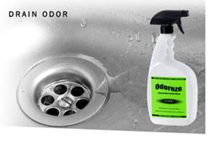 Odoreze Eco Drain Odor Eliminator Spray Makes 64 Gallons