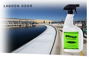 Odoreze Eco Lagoon Odor Eliminator Spray Treats 2 000 Sq Ft
