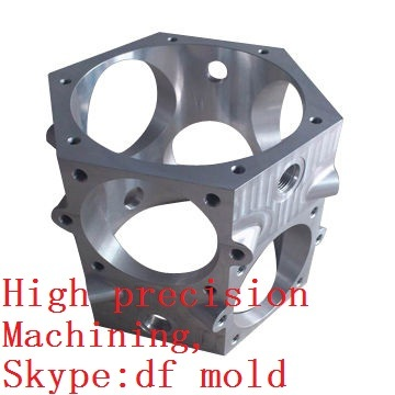 Oem High Precision Machined Parts For Rc With Clear Anodizing