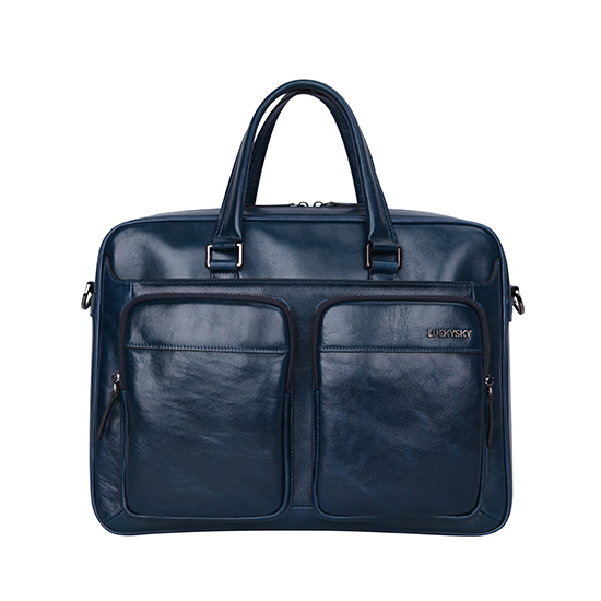 Oem Manufacturing Factory Real Leather Men Business Bag