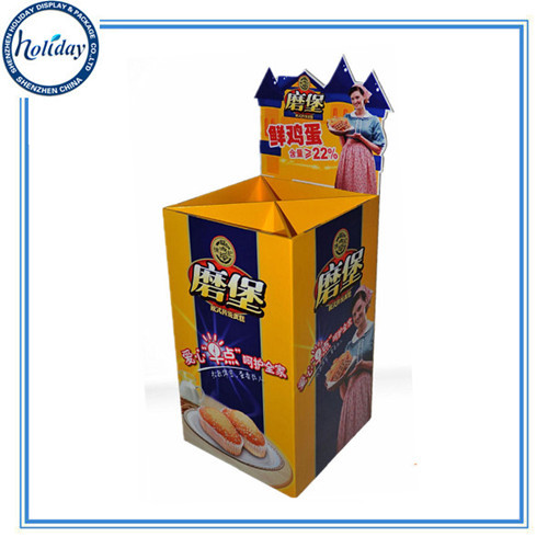 Oem Odm Factory Corrugated Merchandise Display Racks