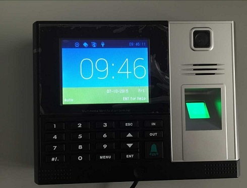 Oem Odm Fingerprint Time Attendance With Hd Color Camera