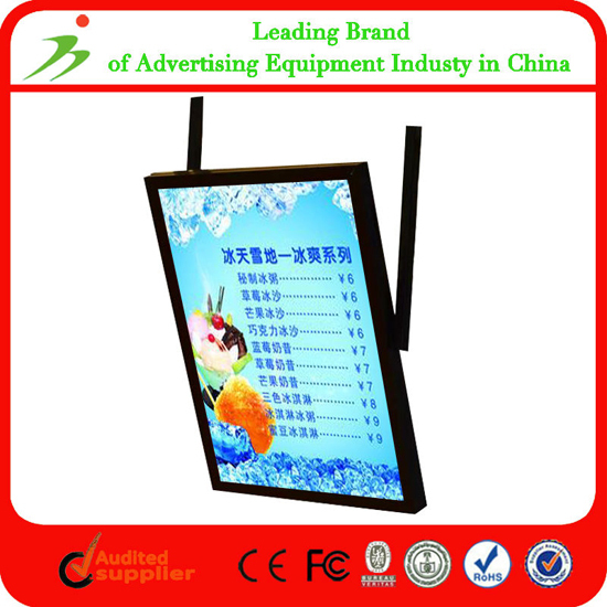 Oem Wall Mounted Advertising Adaptor Power Acrylic Photo Frames Wholesale