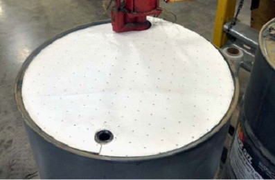 Oil Absorbent Drum Top Covers