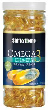 Omega 3 Fish Oil Softgel Capsule Dha Epa 1000 Mg X 100