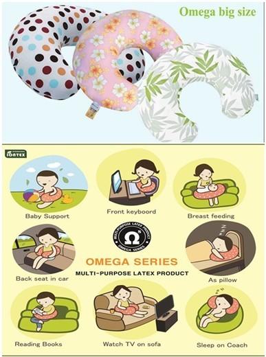Omega Natural Latex Pillow