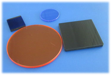 Optical Colored Glass Filters