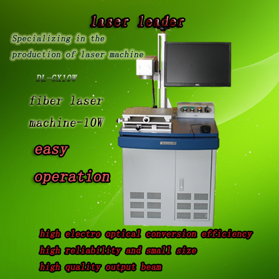Optical Fiber Laser Marking Machine 20watts Product And Spurt The Code