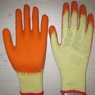 Orange Latex Coated Working Gloves Lg1506 8