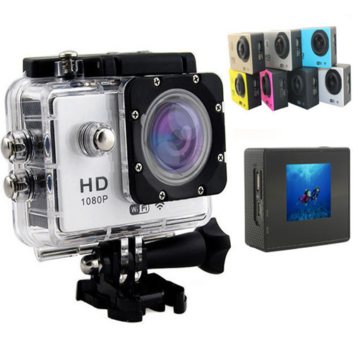 Outdoor 30m Waterproof Sport Action Camera With Wifi Function