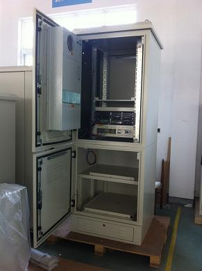 Outdoor Battery Cabinet With Air Conditioner