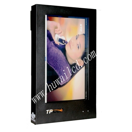 Outdoor Lcd Totem 32inch Wall Mounted Display