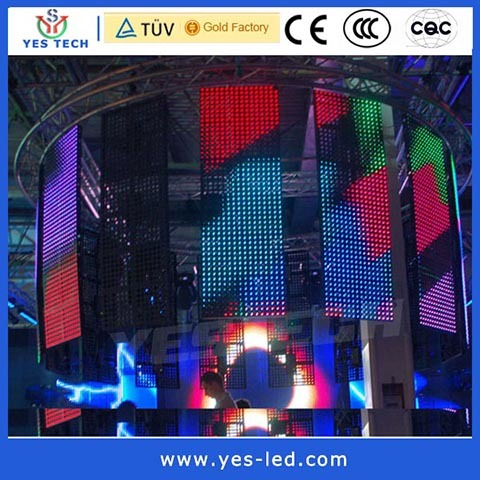 Outdoor P40 Led Rgb Module Curtain Display