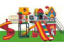 Outdoor Plastic Slide Playground