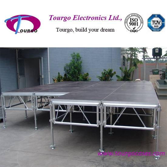 Outdoor Portable Stages With Truss For Event Show