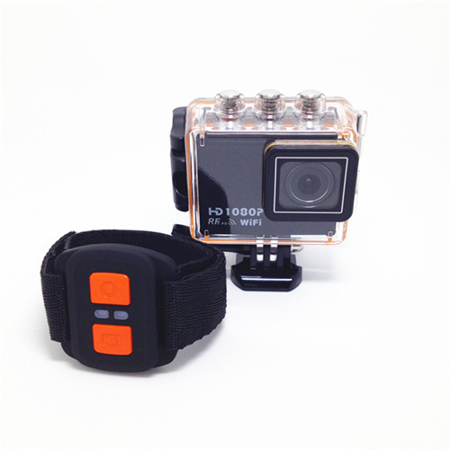 Outdoor Wifi Action Video Full Hd 1080p 12mp Waterproof Sports Camera Remot