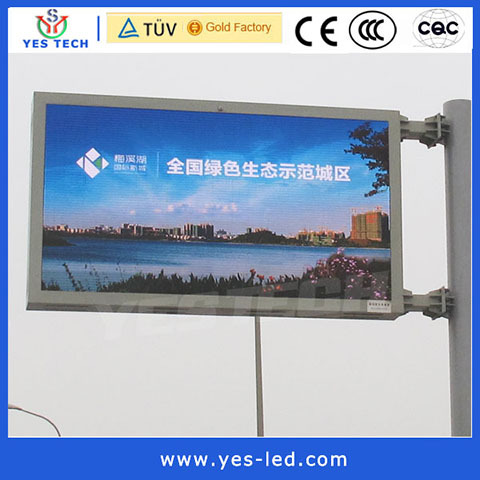 P16 Outdoor Roadside Traffic Led Display Signs Board