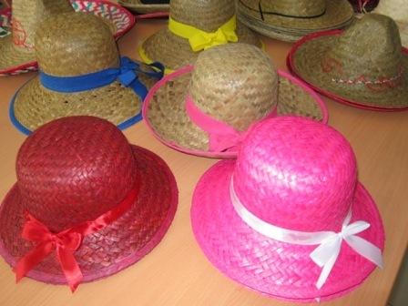 Palm Leaf Hat Cowboy