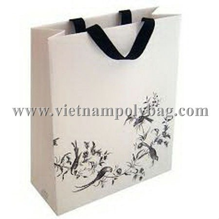 Paper Carrier Shopping Bag Made In Vietnam