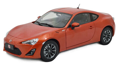 Paudi 2308or Toyota Gt86 2013 Diecast Car Models Collectable Scale Hobby