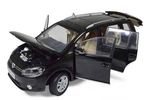 Paudi 2313 Volkswagen Touran Tsi 2013 Diecast Car Models Das Auto Authoriza