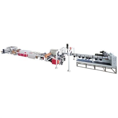 Pc Pmma Gpps Apet Petg Plastic Sheet Plate Extrusion Line