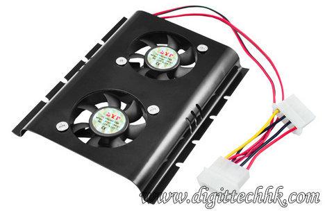 Pc Sata Ide 3 5 Hard Disk Drive Hdd Fan Cooler
