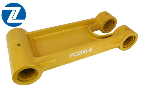 Pc200 6 Excavator Spare Part Bucket Link For Komatsu Parts