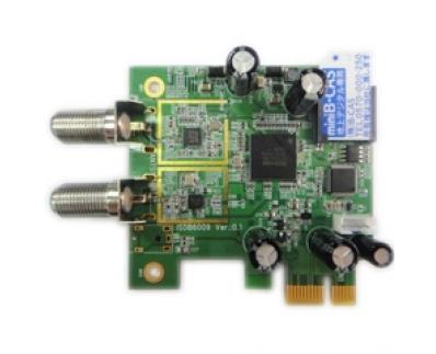 Pci E Digital Tv Receiver Isdb T 6008