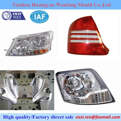 Pe Plastic Auto Car Headlight Mould Lamp Mold Motocycle Light Molds Manufac