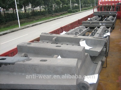 Pearlitic Cr Mo Big Steel Casting Parts For Mine Mills