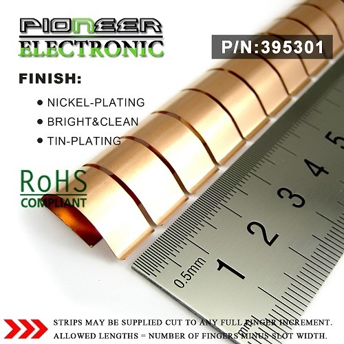 Pecf395301 Emi Finger Beryllium Copper Stock For Mri Room