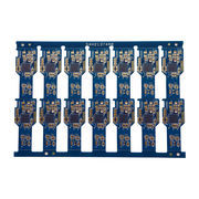Peelable Blue Mask Single Bottom Sided Pcb With 35um Copper Thickness And E