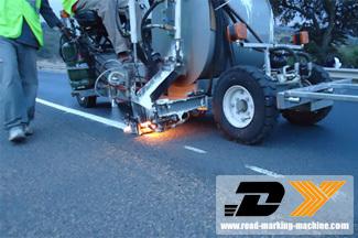 Permutation Spraying Highway Lines Marking Machine