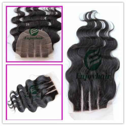 Peruvian Virgin Hair 4x4 Lace Closure Extension