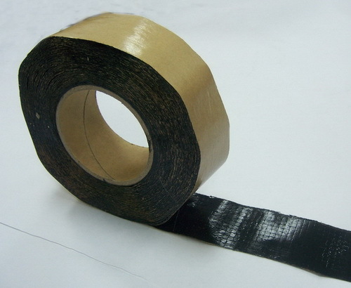 Pet Grid Butyl Waterproof Tape Used For Roofing 2mm 30mm 15m