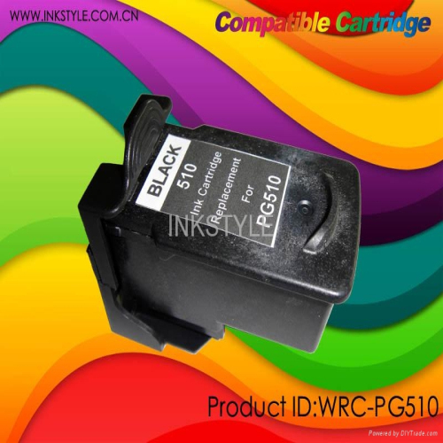 Pg510 Cl511 Compatible Cartridge For Canon Printer With New Autoreset Chip