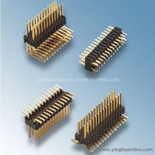 Pin Header 1 27x2 54 Dual Row H 2 1270