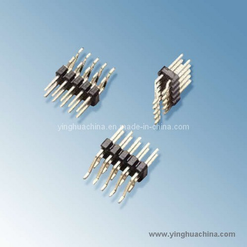 Pin Header 2 54 Horizontal Smt Dual Row H 6 1 2105