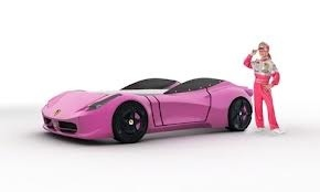 Pink Car Beds For Girls