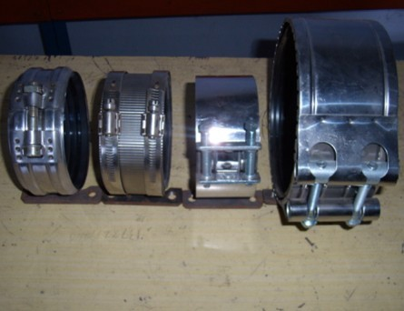 Pipe Clamps Hubless Couplings